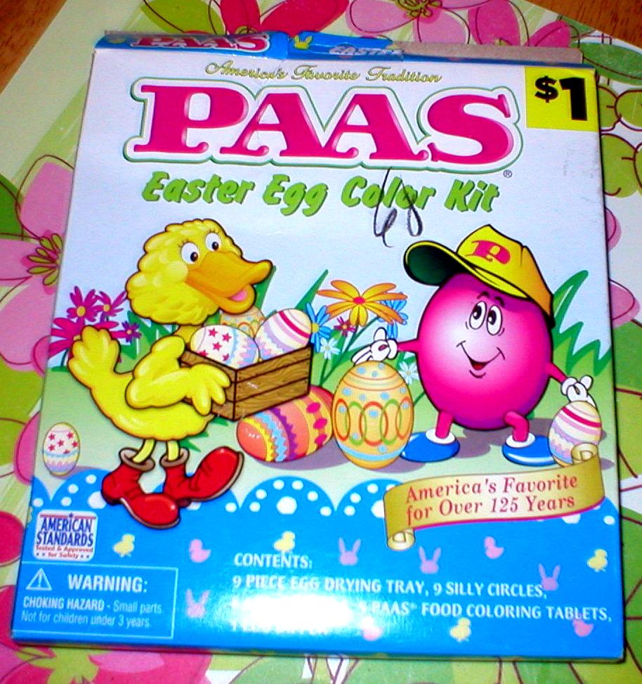 Paas Easter Egg Dye Mkg Memories Keepsakes Gifts