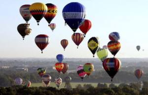 Adam Matthews Balloon Festival Held In Kentucky