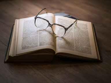 book sunglasses old nostalgic